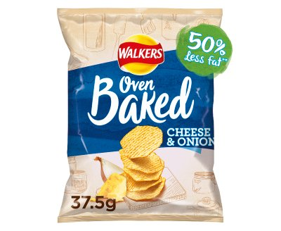 Walkers Baked Cheese & Onion 1x32