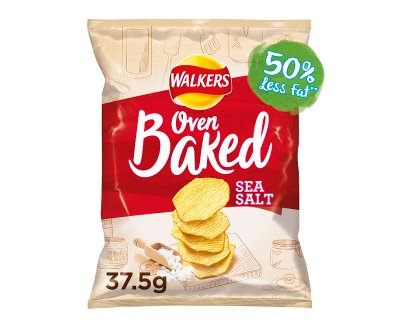 Walker Baked Ready Salted 1x32