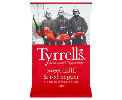 Tyrrells Sweet Chilli & Red Pepper 24x40g