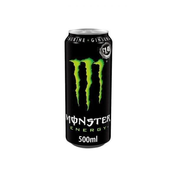 Monster Green Energy 12x500ml PMP £1.45