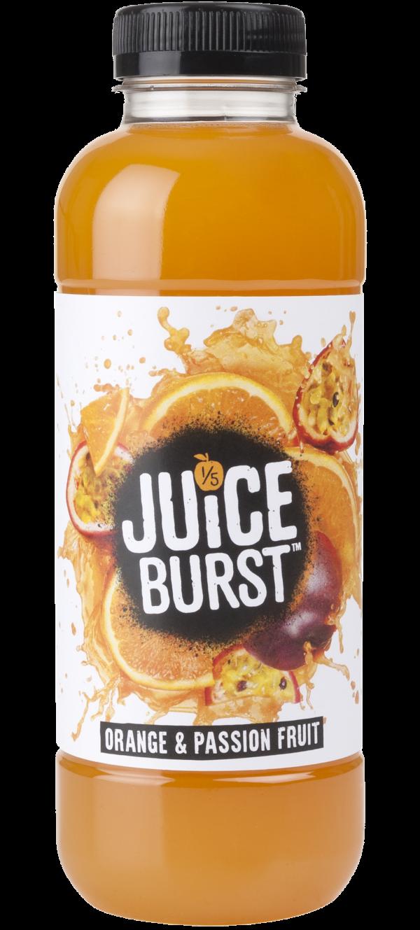 Juice Burst Orange & Passion Fruit 12x500ml