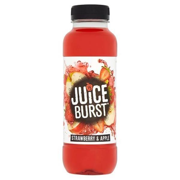 Juice Burst Strawberry & Apple 12x500ml