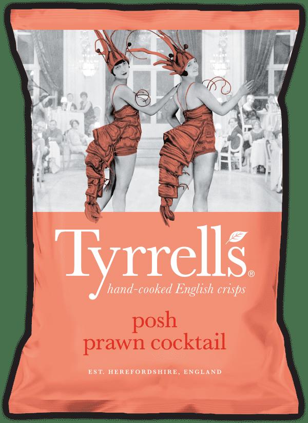 Tyrrells Posh Prawn Cocktail 24x40g