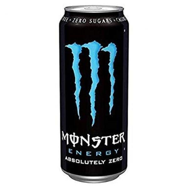 Monster Energy Absolute Zero 12x500ml