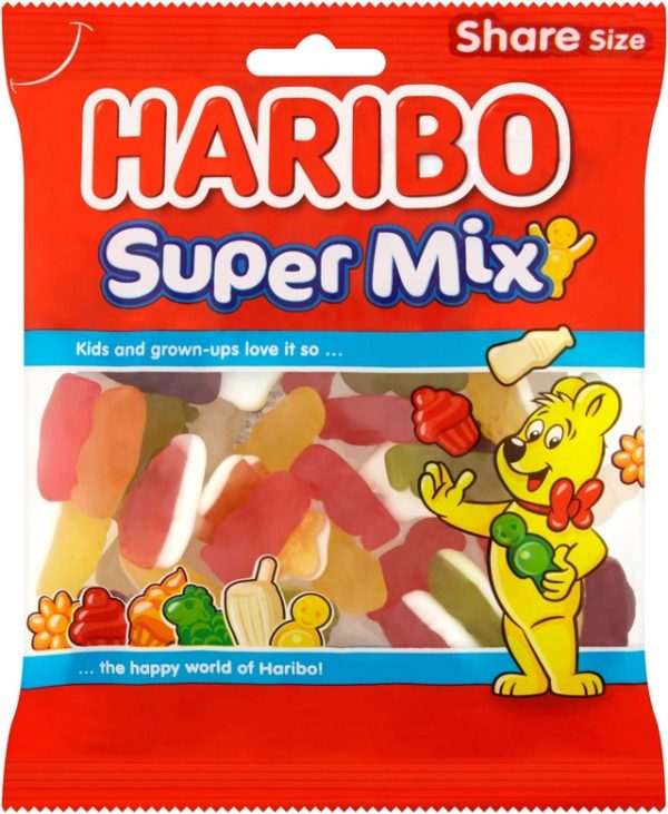 Haribo Super Mix 160g 12pk
