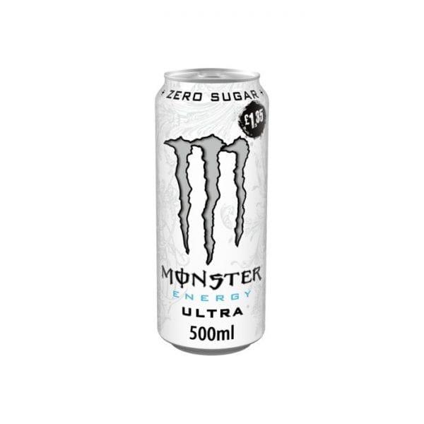 Monster Ultra White 12x500ml PMP £1.35