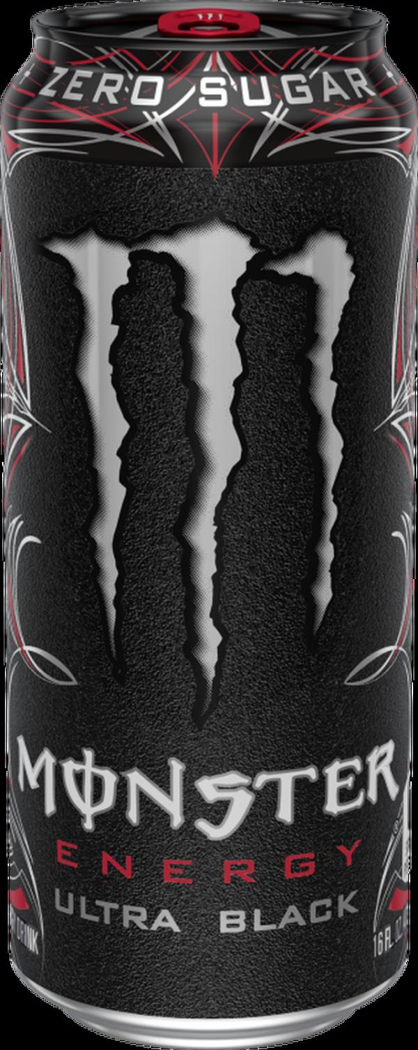Monster Energy Ultra Black 12x500ml