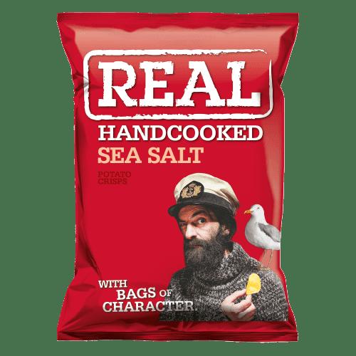 Real Crisps Sea Salt 24x35g