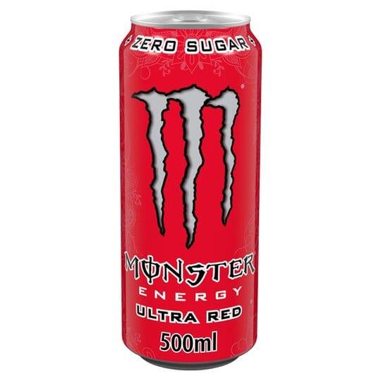 Monster Energy Ultra Red 12x500ml