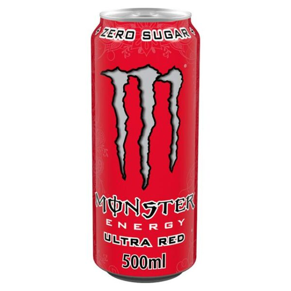 Monster Ultra Red 12x500ml PMP £1.35