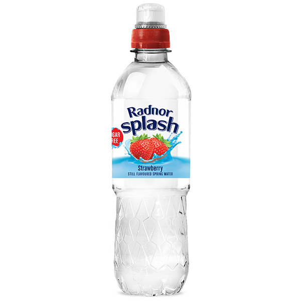 Radnor Hills Splash Strawberry 24x500ml