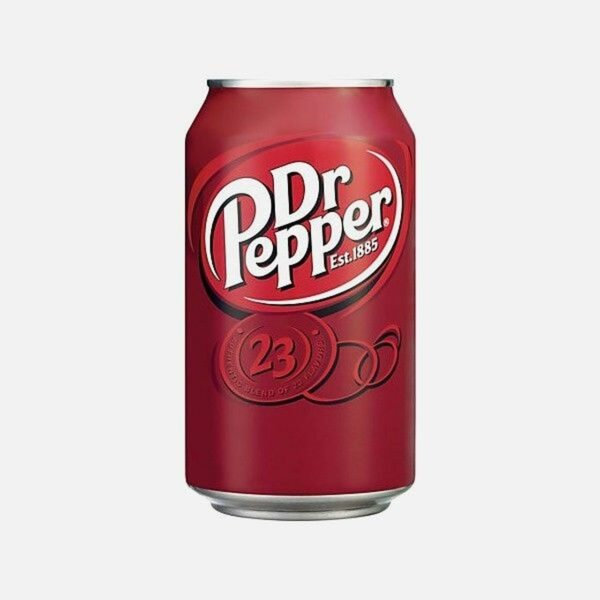 Dr Pepper Dual Text Can 24x330ml