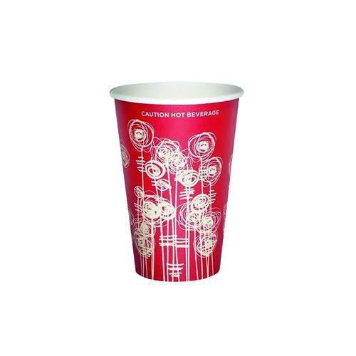 4 Aces Swirl 9oz Paper Vending Cups (1000 Cups)