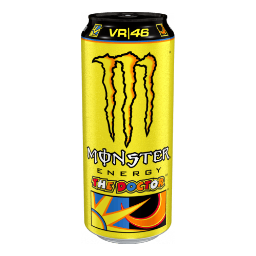 Monster Energy The Doctor 24x500ml (No English Text However Labels With English Text Are Already Applied)