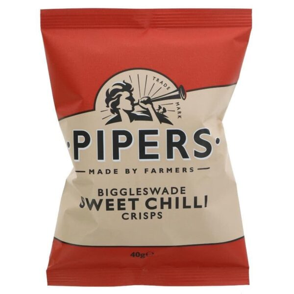 Pipers Biggleswade Sweet Chilli 24x40g