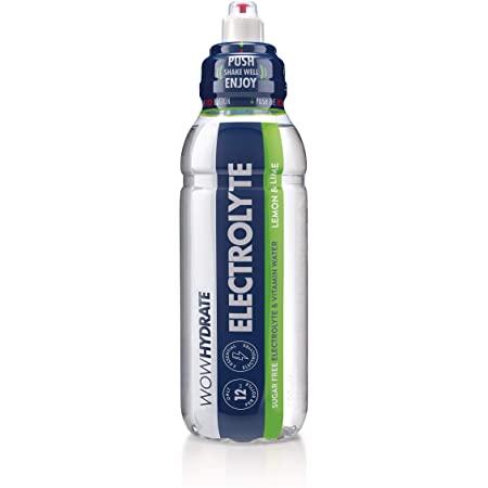 WowHydrate Electrolyte Lemon & Lime 12x500ml
