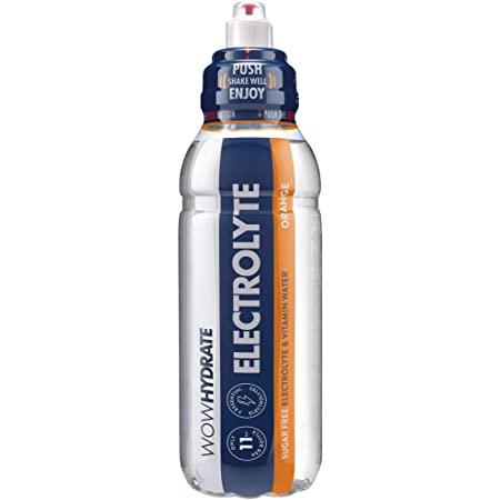 WowHydrate Electrolyte Orange 12x500ml