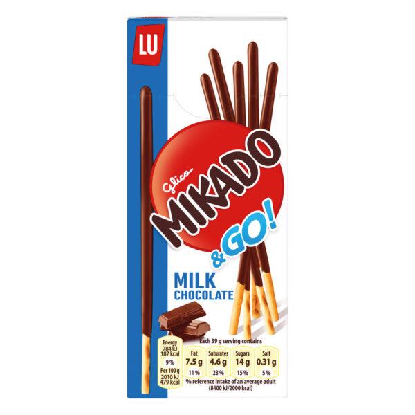 Mikado Milk Chocolate Sticks 24x39g