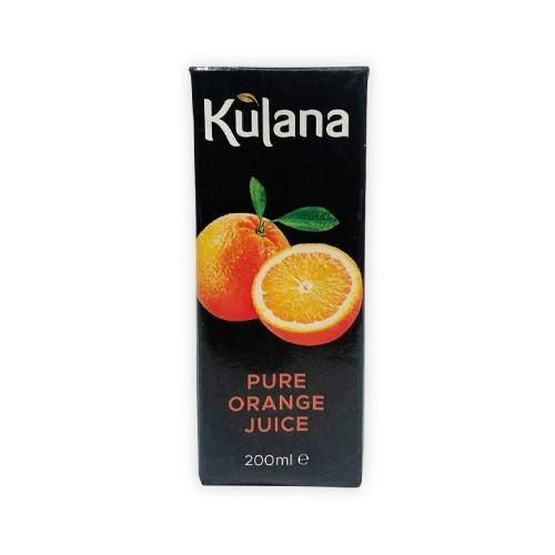 Kulana Orange Juice 27x200ml