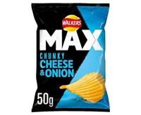 Walkers Max Cheese & Onion 24x50g