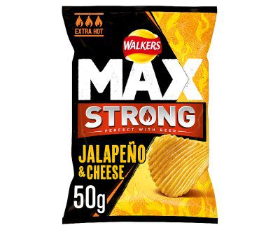 Walkers Max Strong Jalapeno 24x50g