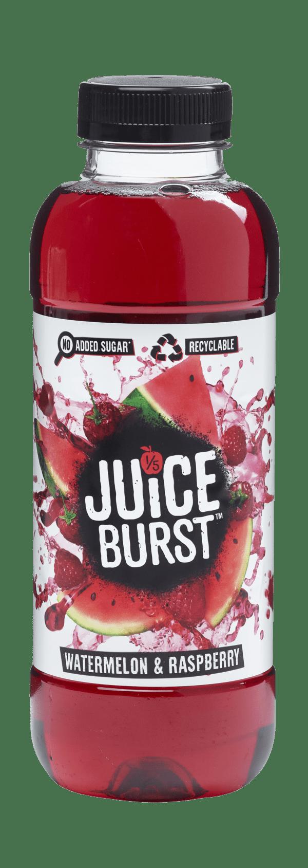Juice Burst Watermelon & Raspberry 12x500ml