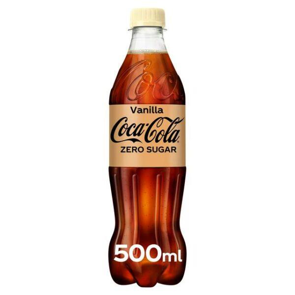 Coke Zero Vanilla 12x500ml